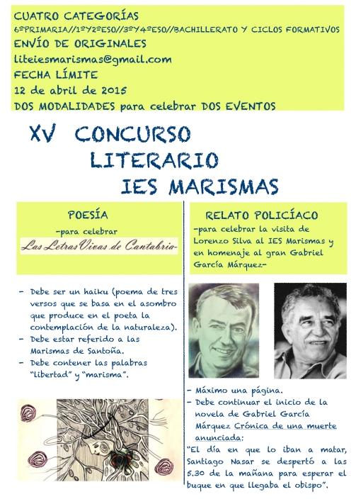 cartelXVconclitMarismas