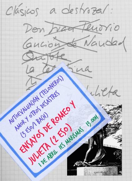 cartel romeoyjulieta